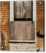 Rusty Building Acrylic Print