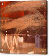 Rusty Container Acrylic Print