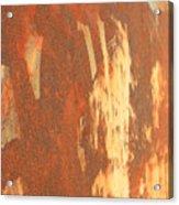 Rusty Drum #2 Acrylic Print