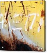 Rusty Dumpster#8 Acrylic Print
