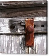 Rusty Entry Acrylic Print