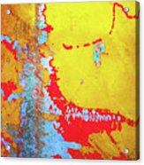 Rusty Expressions Acrylic Print