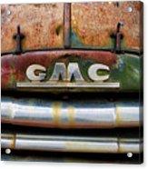 Rusty Gmc Truck Acrylic Print
