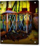 Rusty Lanterns   Acrylic Print