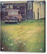 Rusty Memory Acrylic Print