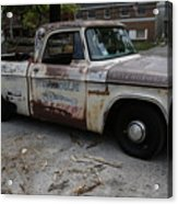 Rusty Old Dodge Acrylic Print
