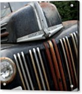 Rusty Old Ford Truck - Img4413 Acrylic Print by Wingsdomain Art and Photography