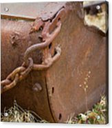 Rusty Old Ore Scoop Acrylic Print