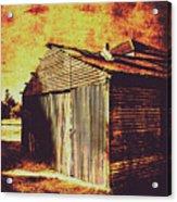 Rusty Outback Australia Shed Acrylic Print