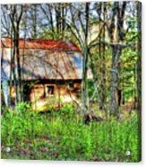 Rusty Roof Acrylic Print