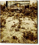 Rusty Rural Ramshackle Acrylic Print