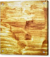 Rusty Sheet Metal Coating Acrylic Print