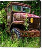 Rusty Warrior Acrylic Print