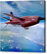 Ryan Bqm-34 Firebee Target Drone Missile Acrylic Print