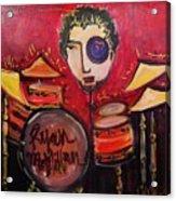 Ryan Macmillan And His Drums Acrylic Print