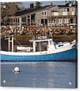 Rye Harbor - Rye New Hampshire Usa Acrylic Print