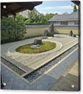 Ryogen-in Zen Rock Garden - Kyoto Japan Acrylic Print