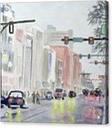 S. Main Street In Ann Arbor Michigan Acrylic Print