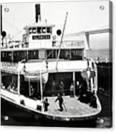 S. P. Ferry Alameda At San Francisco Circa 1940 Acrylic Print