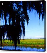 Sabine National Wildlife Refuge Acrylic Print