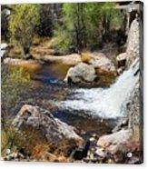 Sabino Creek Falls Acrylic Print