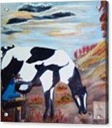 Sacandole  La Leche Ala Vaca Acrylic Print