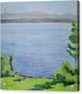 Sacandaga Lake Acrylic Print