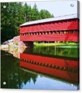Sachs Bridge Acrylic Print