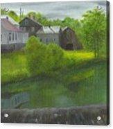 Sacketts Dam Acrylic Print