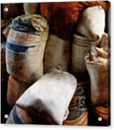 Sacks Of Feed Acrylic Print