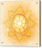 Sacral Chakra Series Two Acrylic Print