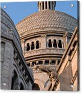 Sacre Coeur Architecture Paris Acrylic Print