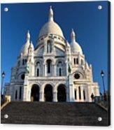 Sacre Coeur Montmartre Paris Acrylic Print