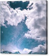 Sacred Belukha Acrylic Print