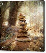 Sacred Cairn Acrylic Print