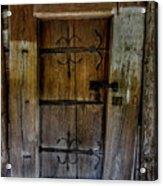 Sacred Door Acrylic Print