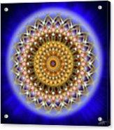 Sacred Geometry 187 Acrylic Print