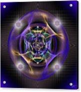 Sacred Geometry 554 Acrylic Print