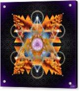 Sacred Geometry 701 Acrylic Print