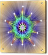 Sacred Geometry 83 Acrylic Print