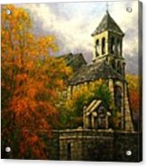 Sacred Heart Chapel Paris Acrylic Print