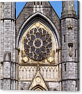 Sacred Heart Church Detail Roscommon Ireland Acrylic Print