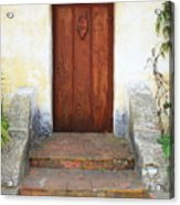 Sacred Heart Door Acrylic Print