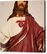 Sacred Heart Of Christ Acrylic Print