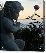 Sacred Secret Garden  Acrylic Print