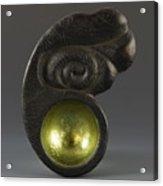 Sacred Spoon Of The Pemaquid Rock People Acrylic Print