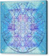 Sacred Symbols Out Of The Void A3c Acrylic Print