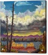 Sacred View Acrylic Print