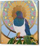 Sacred Wood Pigeon Acrylic Print