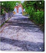 Sacromonte Abbey Entrance Acrylic Print
